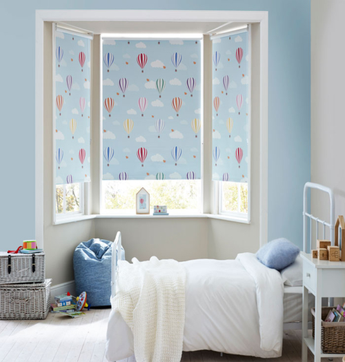 Roller blinds for bedroom archives blindcurtain for Blinds for kids rooms