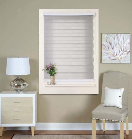 Black And White Striped Roller Blind Black And White