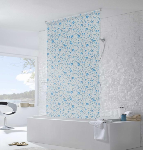 Water Resistant Roller Blinds In Bathroom Water