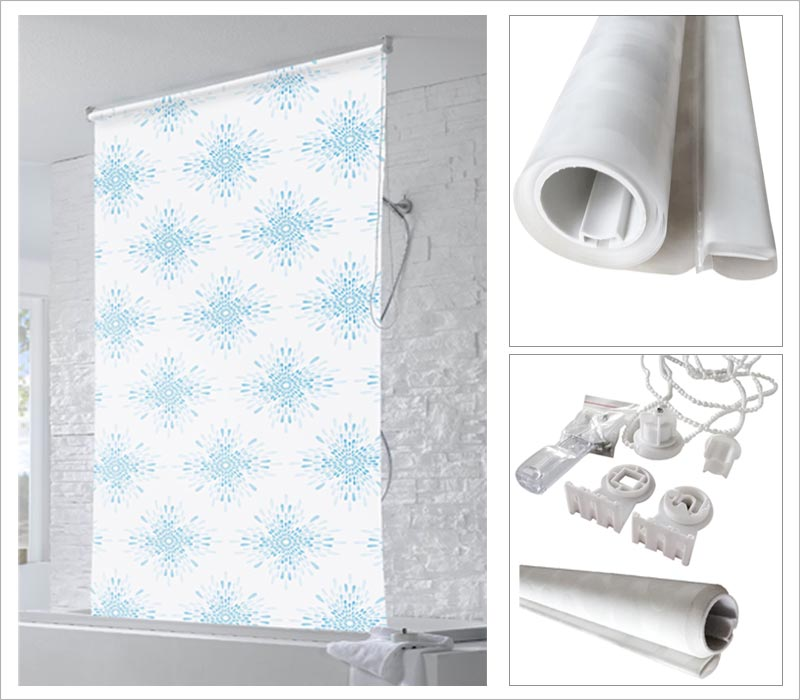 Details image of Mould Resistant Roller Blinds Bathroom. waterproof roller blinds bathroom   moisture resistant waterproof