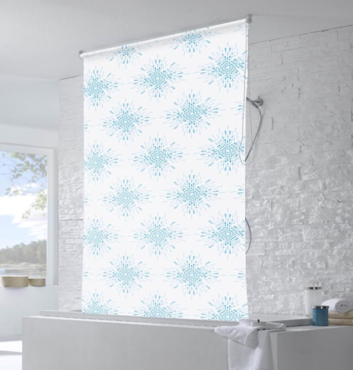Water resistant roller blinds in bathroom water resistant roller blinds in bathroom - Bathroom shades waterproof ...