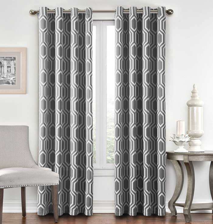 Etonnant Best Type Of Curtains For Living Room
