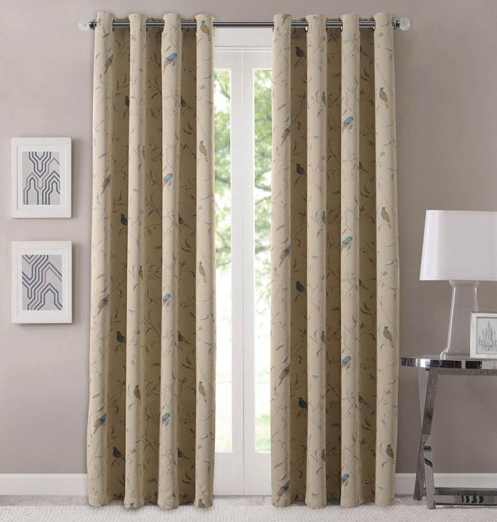 Blackout Kids Room Darkening Curtains