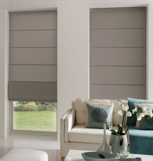 Stylish Roller Roman Blind Make Your Own