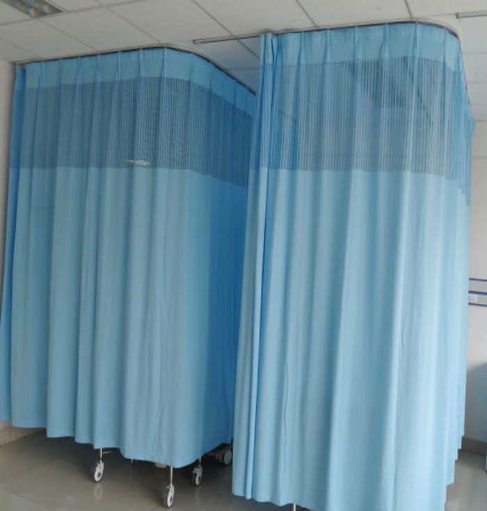 flexible with hospital h track x light ip brown medical privacy curtains cubicle curtain w