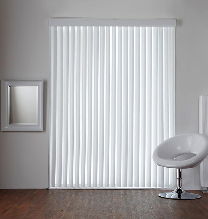 Large Commercial Vertical Blinds Pvc