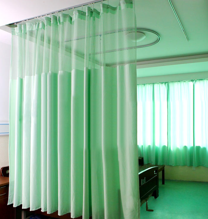 Hospital Bed Curtain Mildew Resistant Hospital Bed Curtain