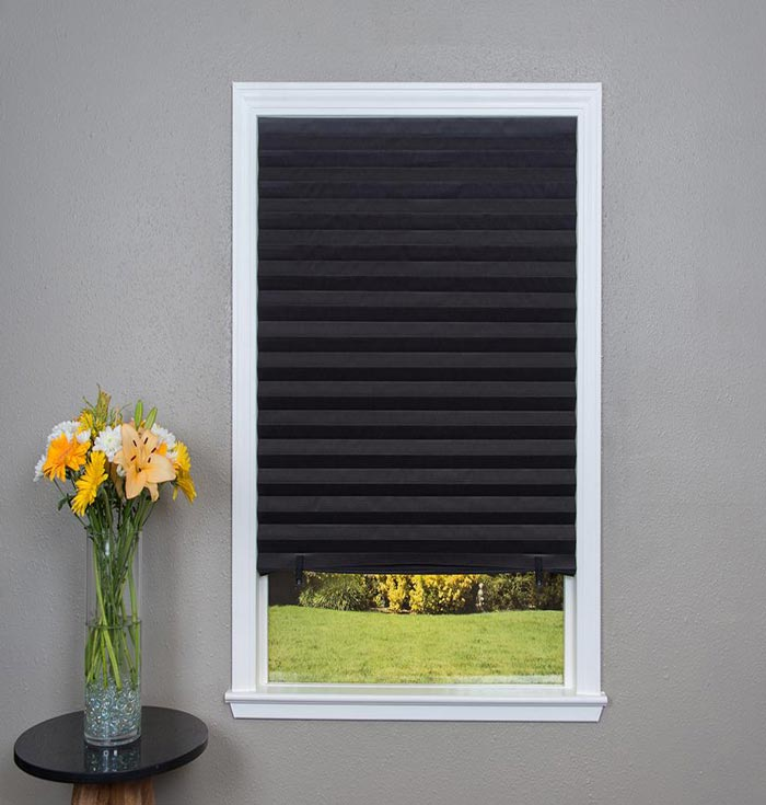 Pleated Paper Shades Quick Fix Temporary Pleated Paper
