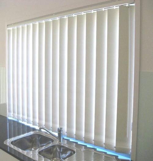 Room Darkening Vertical Blinds Large Room Darkening