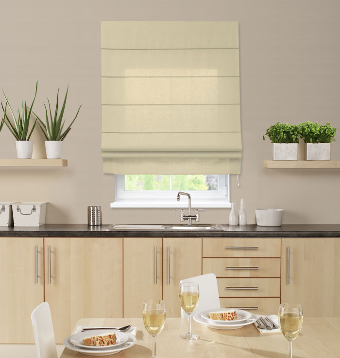 Roman Blinds Suitable For Kitchen