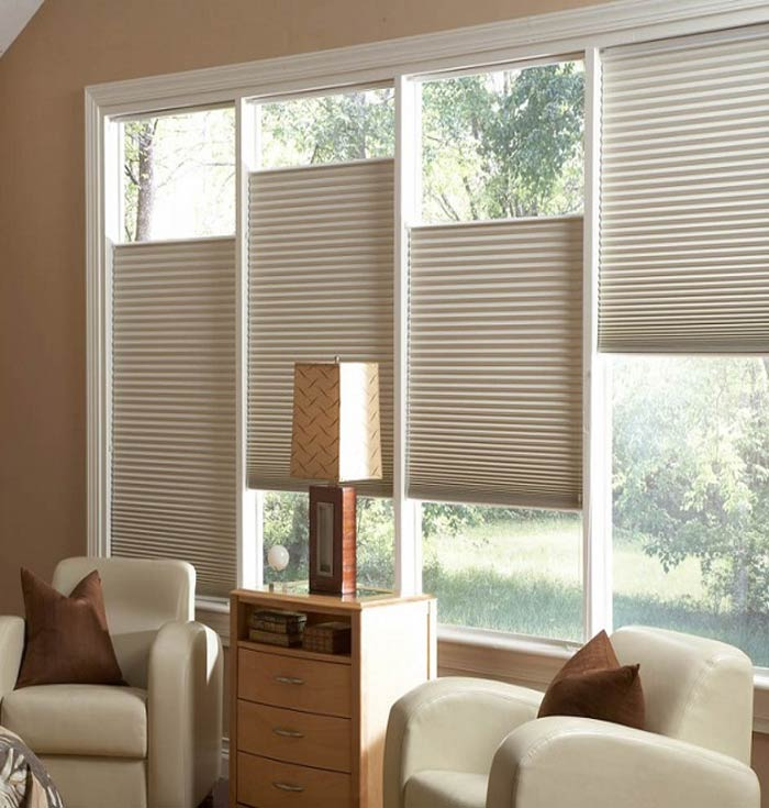 compressed blinds honeycomb shade window the darkening b shades depot motorized available room serena colors n cellular treatments home