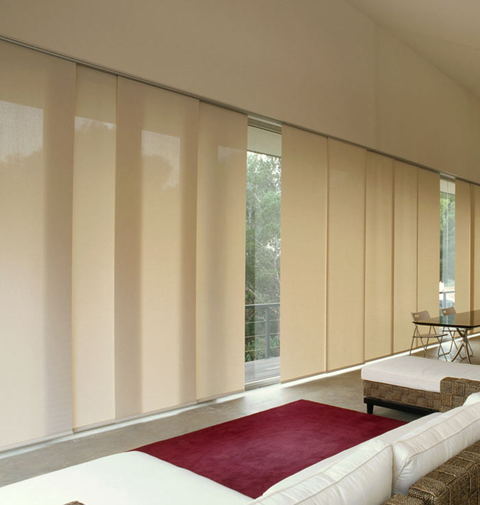Vertical Panel Track Blinds Vertical Panel Track Blinds Made To