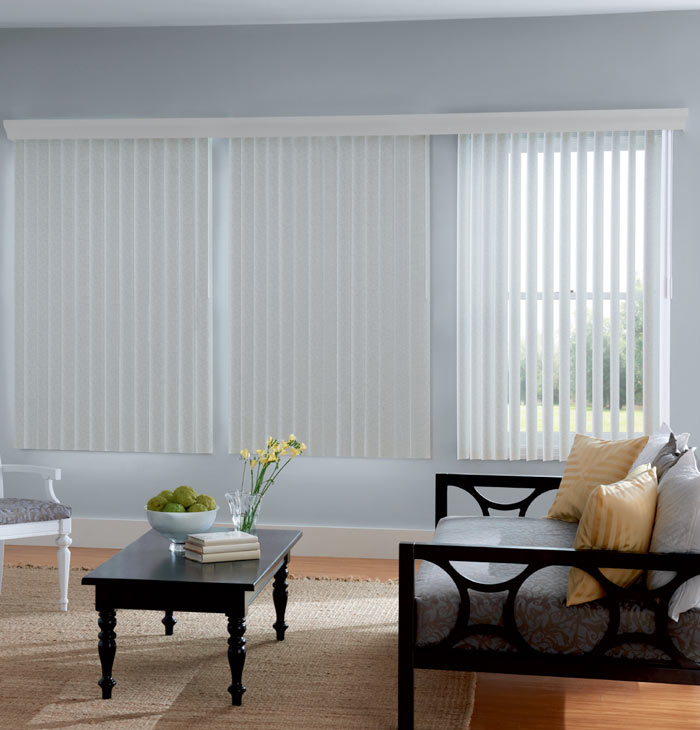Window Treatments Over Vertical Blinds