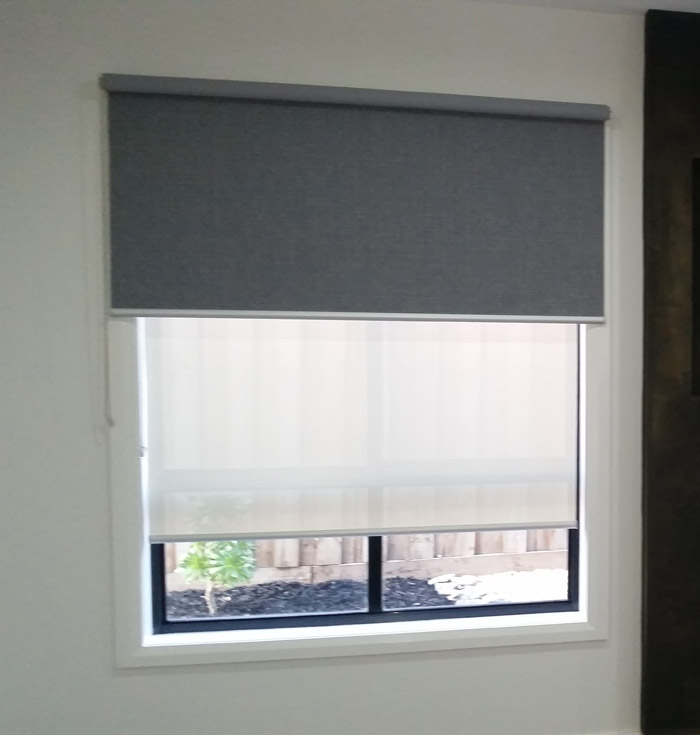 Double Bracket Roller Blinds
