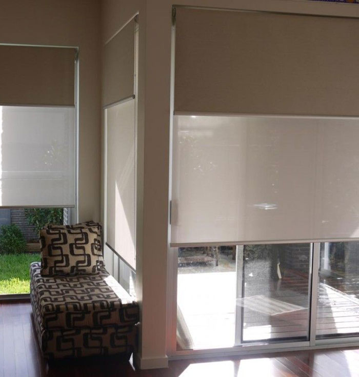 Day Night Roller Shades Double Layer Day Night Roller Shades